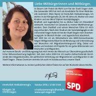 Liebe Mitbürgerinnen und Mitbürger, - SPD Siegen