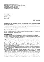 09.12.08 Gemeinsamer Antrag Verzicht auf ... - SPD Siegen