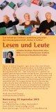 Cottbuser Leseherbstes - Bibliothek Cottbus - Seite 3