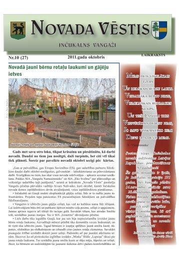 Nr. 10(27) Oktobris - Inčukalns.lv