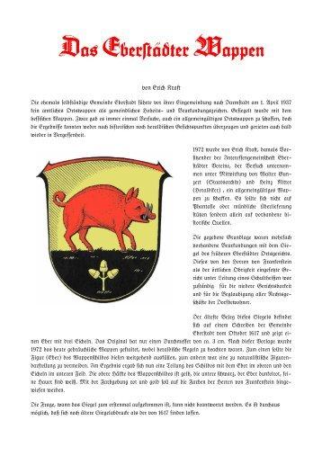 Da+ Eber#ädter Wappen - Geschichtsverein Eberstadt - Frankenstein