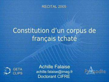 C - Achille Falaise