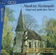 Im Booklet blättern - Kirchenmusiker Gregor Schwarz