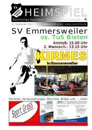 """Download """"HEIMSPIEL"""" Ausgabe 4 - Förderkreis Emmersweiler eV"""
