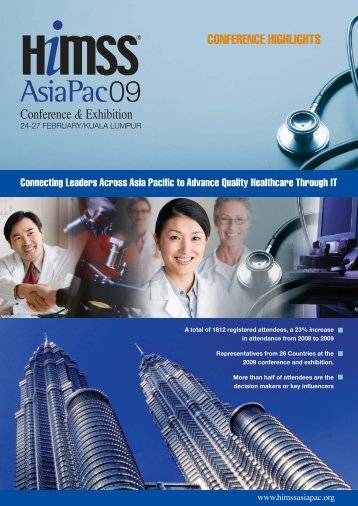 HIMSS09 Malaysia - HIMSS AsiaPac