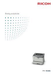 Product Brochure - Ricoh