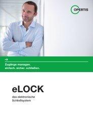 das elektronische Schließsystem Zugänge ... - Opertis GmbH