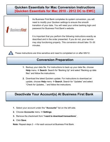 Quicken 2012 Instruction Manual