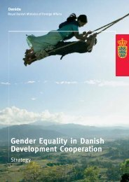 Gender Equality in Danish Development Cooperation - Aid ...
