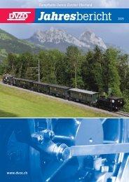 Download «DVZO Jahresbericht 2009 - Dampfbahn-Verein Zürcher ...