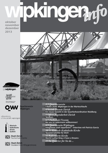 oktober november dezember 2013 - Quartierverein Wipkingen