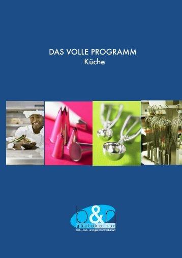 Küchen-Equipment - B&N Service AG