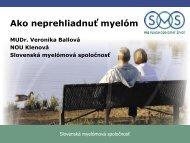 Ako neprehliadnuť myelom