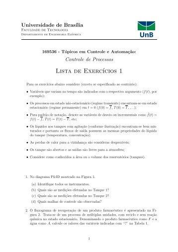 Lista de Exercícios 1 - LARA