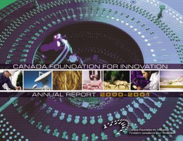 Download 1.9 MB (PDF) - Canada Foundation for Innovation