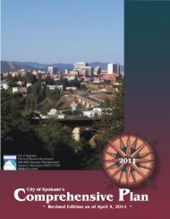 City of Spokane Comprehensive Plan - City of Spokane - Business ...