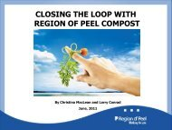 Key Messages of Presentation - Compost Council of Canada