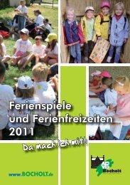 Brosch Ferienspiele 2011 - Bocholt