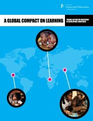 A Global Compact on Learning - Brookings Institution