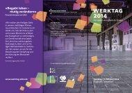 Werktag 2014 - Ein Perspektivkongress für Delegierte der EKBO