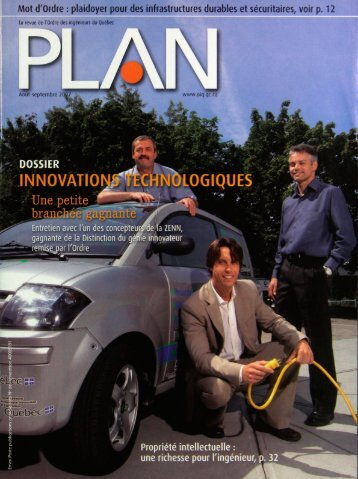 PLAN 2007-6 - Ordre des ingénieurs du Québec