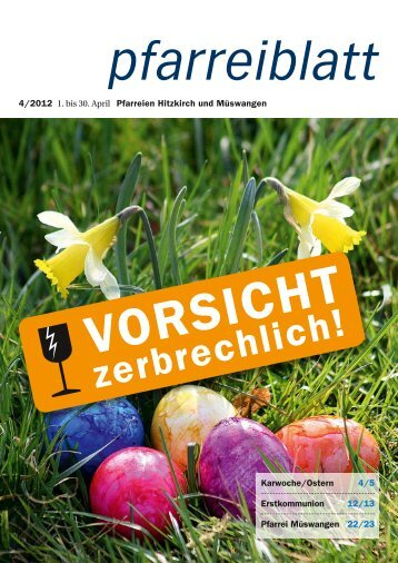 2012-04 April.pdf - Pfarrei Hitzkirch