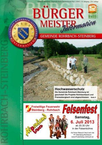 6. Juli 2013 - Rohrbach-Steinberg