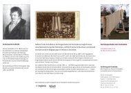 Auf Augenhöhe – zur Denkmal-Installation von Sabine Trüb ...