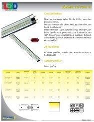 NUEVO TUBO T8 LEDS.cdr - Brillante Iluminación
