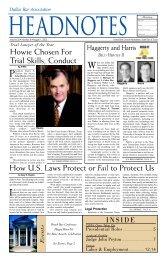 August 2002 - Dallas Bar Association