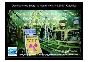 N - Warszawska Grupa Neutrinowa