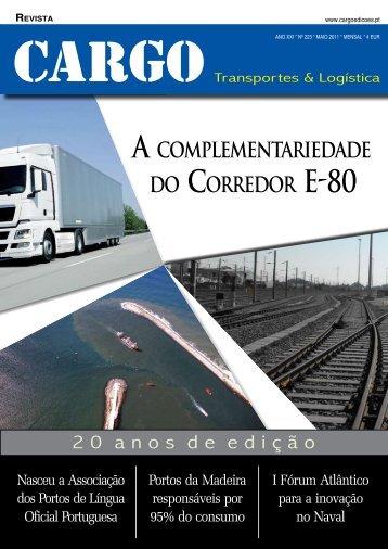 A complementAriedAde do corredor e-80 - Cargo