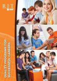 quality programs for successful careers - American College of ...
