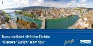 Tramrundfahrt «Erfahre Zürich - buerglers.ch Privathomepage