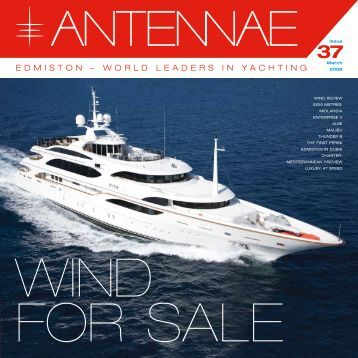 EDMISTON – WORLD LEADERS IN YACHTING