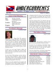 June 2010 - Bluegrass Dive Club
