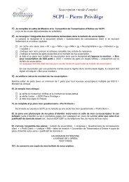 SCPI – Pierre Privilège - Haussmann Patrimoine