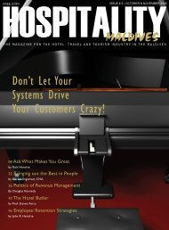 Don't Let Your Systems Drive Your Customers Crazy! - Hospitality ...