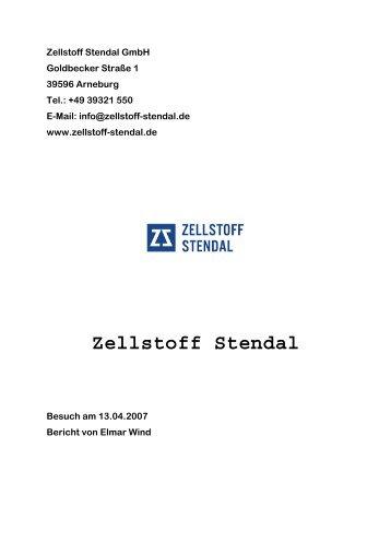 Zellstoff Stendal GmbH - APV Graz