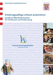 Kindertagespflege wirksam präsentieren - Bundesverband für ...