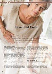 Interstitiel Cystit - gynækolog christine felding
