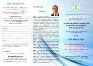 Prof. Roberto Pippi A) ROMA 31 Ottobre 2009 - UNID