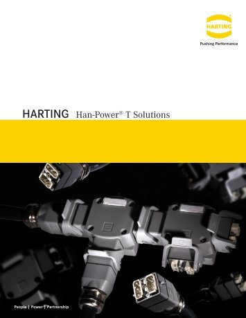 HARTING Han-Power® T Solutions - Allied Electronics