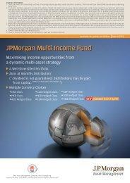 JPMorgan Multi Income Fund - JP Morgan Asset Management