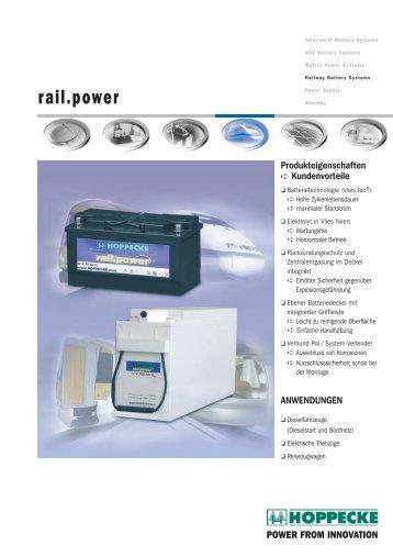 rail.power - Hoppecke