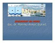 doc. dr. Marinko Aleksić dipl.inž.