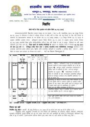 Advertisement for Recruitment of Govt. Girls ... - DTE Raipur