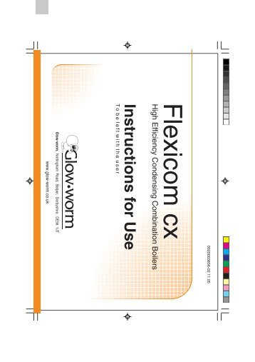 Glowworm Flexicom CX installation manual - Dropbox