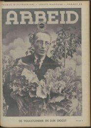 Arbeid (1941) nr. 40 - Vakbeweging in de oorlog