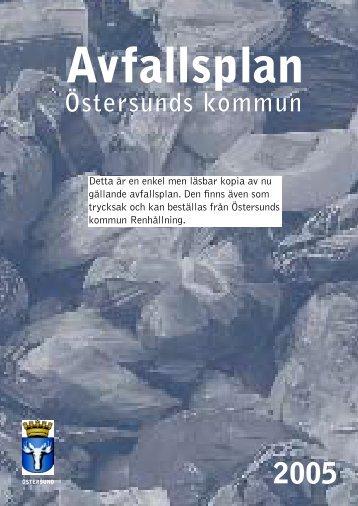 Avfallsplan - Östersunds kommun